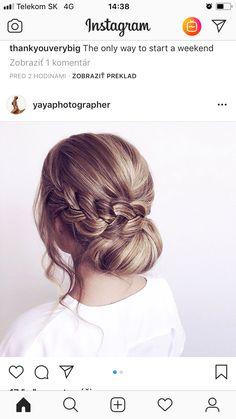 Hair Beauty, Hairstyles, Wedding Ideas, Couple, Instagram, Hair, Haircuts, Hairdos, Hair Styles