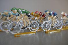 Cycling Peloton miniatures