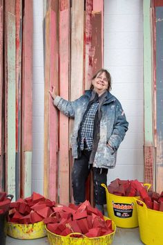 Phyllida Barlow: The sculptor on splodges, what she learnt from her mother – and not teaching the YBAs - Features - Art - The Independent