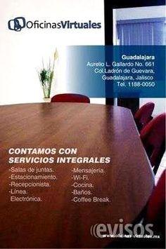 RENTA DE OFICINAS VIRTUALES, ADQUIERE UN DOMICILIO FISCAL  RENTA DE OFICINAS VIRTUALES  El servicio de oficinas virtuales es para quienes buscan una imagen ...  http://guadalajara-city-2.evisos.com.mx/renta-de-oficinas-virtuales-adquiere-un-domicilio-fiscal-id-613830