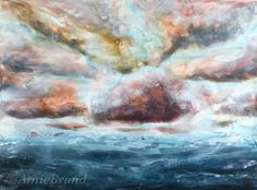 Encaustic - wow I'm on it again! The sky's my limit ☺️ . Wax Art, Encaustic Art, My Arts, Sky, Fine Art, Amazing, Painting, Instagram, Heaven