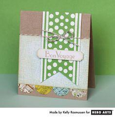 Hero Arts Cardmaking Idea: Bon Voyage