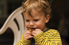 Thomas loves Great Oma's cookies!
