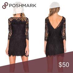 NWT BB Dakota Lace Black Mini Dress Originally $101 on Revolve - now sold out • Super sexy little black lace dress with slip BB Dakota Dresses