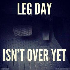 Leg day,,,, And so it begins!