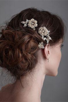 Les Bijoux Hairpins in at BHLDN