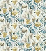 - Verdaccio, a Fabric by Harlequin, part of the Fauvisimo collection Roman Blinds, Curtains With Blinds, Harlequin Fabrics, Concept Home, Coordinating Fabrics, Room Colors, Fabric Flowers, Poppies, Tulips