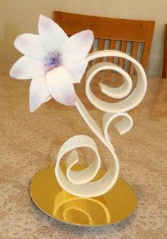 pastillage flowers - Google Search
