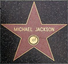 History - Michael Jackson is awarded a star on the Hollywood Walk of Fame on November 20, 1984