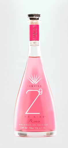 Tequila 29 Two Nine Rosa (Pink) is our new tequila member. This tequila is very special because it is carefully produce. This tequila is unaged and has a color that has been taken from an insect called cochinilla that lives and eats from the agave plant and produces an organic colorant in this case used in Tequila 29 Two Nine