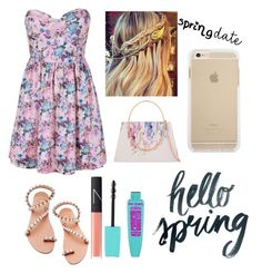 """""""Spring Date: Plus Size"""" by twinkie1619 ❤ liked on Polyvore featuring Boob, Elina Linardaki, Ted Baker and NARS Cosmetics"""