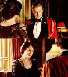 Mary and Matthew Crawley