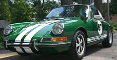 WTF Green 911 With White Stripes - Pelican Parts Technical BBS