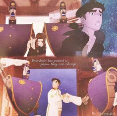 Everybody has wanted to prove they can change-Treasure Planet