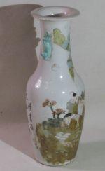 Vase Periode der Republik China, Porzellan