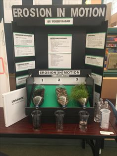 Erosion Science Fair Project Grade 4