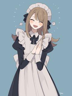 Kawaii Anime, Chica Anime Manga, Anime Girl Cute, Anime Art Girl, Character Inspiration, Character Art, Anime Drawing Styles, Anime Maid, Estilo Anime
