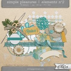 {Simple Pleasures} Elements No2 | A Little Giggle Designs