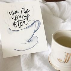 Start a new tradition: send thank you notes instead of holiday cards. Thank You Notes, Holiday Cards, Tea, Mugs, Fall, Tableware, Christian Christmas Cards, Autumn, Dinnerware