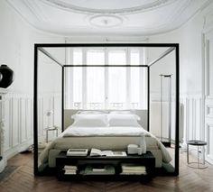 Love Modern 4 Poster Beds White Bedroom Dream Decor