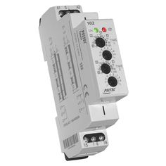 Peltec 102 is a dual time adjust repeat cycle timer.  Din rail adjustable with on or off time first adjustable from .1 seconds to 100 Days  http://www.peltectimers.com/pdfs/Peltec102.pdf