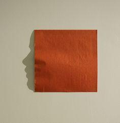 shadow art origami by Kumi Yamashita