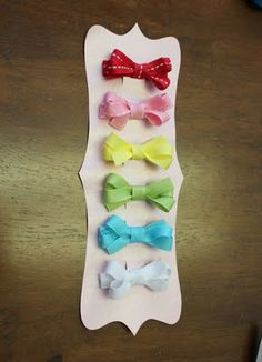 Schoolhouse Ronk: Hairbows {A Tutorial}. So good!