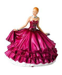 Royal Doulton Rendezvous Crystal Ball Evening Figurine. #RoyalDoulton #Christmas…
