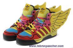 Adidas X Jeremy Scott Wings 2.0 Color Chaussures En Ligne