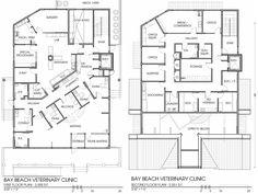 Veterinary floor plan: Bay Beach Veterinary Hospital