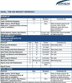 Sample Power Training Spartacus Workout  Nasm Sample Exercise
