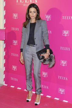 T Telva Belleza 2014 Nice suit. I guess it's the perfect working outfit.