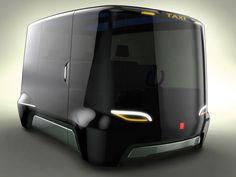 Innovative Taxi Concepts For Prague. Taxi-e   by Louis Joseph Böhm