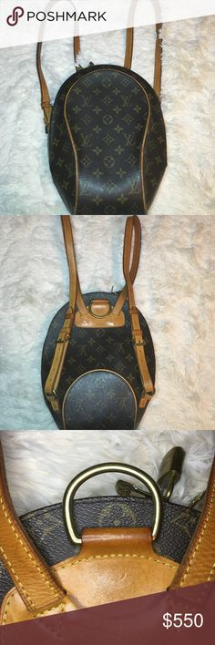 Louis Vuitton Backpack Classic Authentic LV backpack, great condition,  nice patina color, price reflects some markings inside. Overall gorgeous and well kept. Louis Vuitton Bags Backpacks