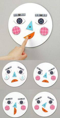 emotions crafts for kids \ emotions crafts for preschoolers ; emotions crafts for toddlers ; emotions crafts for kids ; emotions crafts for toddlers feelings ; emotions crafts for preschool Learning Activities, Preschool Activities, Kids Learning, Diy Preschool Toys, Diy Montessori Toys, Emotions Activities, Montessori Education, Montessori Toddler, Social Emotional Activities