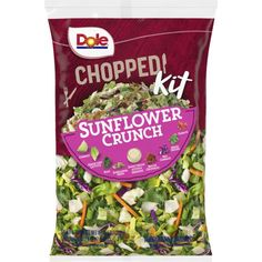$3.99  Instacart - Dole Sunflower Crunch Salad Kits, Dehydrated Onions, Food Recalls, Green Cabbage, Chopped Salad, Fresh Vegetables, Natural Flavors, Allergies, Honeymoon Packing