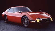 toyota 2000gt red picture