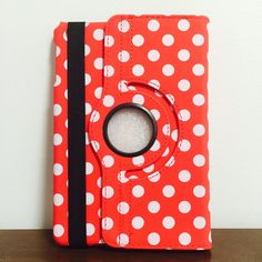 Polka-Dot rotation leather case iPad mini 1/2/3 Polka-Dot rotation leather case iPad mini 1/2/3 Cute 360 rotate Polka-Dot leather case for iPad mini 1/2/3 generations with Front and Back full cover as well as smart automatic wake/Sleep function  Brand New Case  Color: Red  $16 Only  What a nice deal:) Accessories