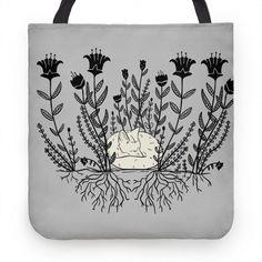 Sleeping Fox #fox #foxprint #flowerpattern #foxes #floral Fox Pillow, Fox Print, Cute Tote Bags, Design Show, Foxes, Flower Patterns, Hand Sewing, Whimsical, Original Art