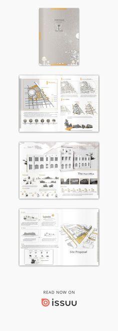 Portfolio Booklet, Presentation Layout, Architecture Graphics, Layout Design, Presentation Templates