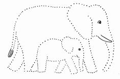 Dot Drawing For Kids Elephant And Baby Dot Drawing - Samantha Bell photo, Dot Drawing For Kids Elephant And Baby Dot Drawing - Samantha Bell image, Dot Drawing For Kids Elephant And Baby Dot Drawing - Samantha Bell gallery String Art Templates, Painting Templates, String Art Patterns, Painting Patterns, Paper Embroidery, Embroidery Patterns, Japanese Embroidery, Flower Embroidery, Embroidered Flowers