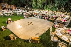 Ken Wingard's DIY Dance Floor | Paige & Jason's Wedding | Hallmark Channel