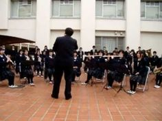 The Japanese simphonic orchestra playing Komitas - armenian music
