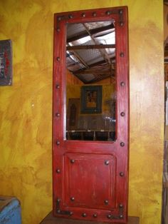 Bathroom Mirrors Amazon old door mirror mexican imports http://www.amazon/dp