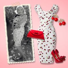 Feel like a real bombshell in this stunning vintage look, just like Marilyn Monroe!