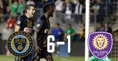 CJ Sapong Ilsinho and Fafa Picault all scores braces while Dom Dwyer got on the board for Orlando as Philadelphia came out with a whopping 6-1 win. Both teams were already eliminated from the playoffs. #MLS #majorleaguesoccer #philadelphiaunion #phulaunion #orlandocitysc #orlandocity #ocsc