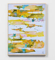 Abstract painting Printable Abstract Art Digital by DanHobdayArt Modern Wall Art, Contemporary Art, Marine Colors, Yellow Wall Art, Abstract Art, Abstract Paintings, Printable Art, Original Artwork, Hand Painted
