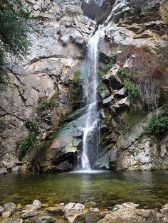 Sturtevant Falls Hike - 3.7 miles, Angeles National Forest