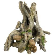 """Top Fin Craggy Driftwood Aquarium Ornament  $ 22.99  Dimenstions: 11"""" L x 10"""" W x 8"""" H"""