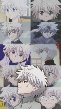 This wallpaper is from Hunter x Hunter! Press photo to see credits. Anime Wallpaper Phone, Anime Backgrounds Wallpapers, Animes Wallpapers, Killua, Hisoka, Hunter X Hunter, Hunter Anime, Wallpaper Aesthetic, Cute Anime Character